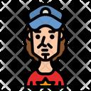 Traveller Artist Boy Icon