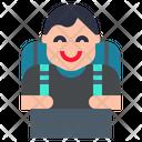 Traveller Man Icon