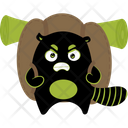 Travelling Black Monster Icon