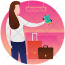Tourist Travelling Equipments Travel Icon