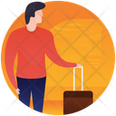 Travelling Luggage Icon