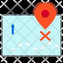 Map Pin Transport Icon