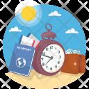 Travelling Prerequisite Holidays Icon