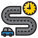 Travelling Time Icon