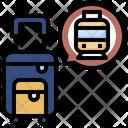 Travelling Train Public Transport Railway Icon