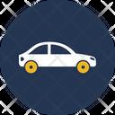 Travelling Via Car Icon
