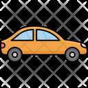 Travelling Via Car Auto Automobile Icon