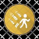 Travelling War Emigrant Evacuation Icon