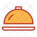 Tray Clouch Restaurant Icon
