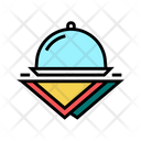 Tray Napkins Color Icon