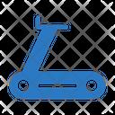 Runningmachine Fitness Gym Icon