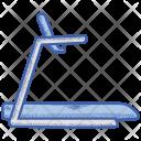 Health Run Treadmill Icon