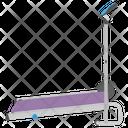 Treadmill Gym Equipment Running Machine Icon