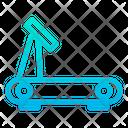 Running Machine Track Treadmill Icon