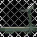 Treadmill Gym Equipment Fitness Icon