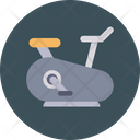 Treadmill Running Training Icon
