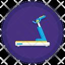 Treadmill Running Jogging Icon