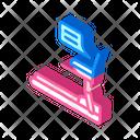 Treadmill Remote Work Icon