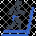 Cardio Exercises Gym Icon