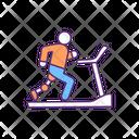 Leg Treadmill Training Icon