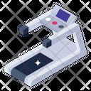 Treadwheel Treadmill Electronic Machine Icon