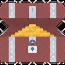 Treasure Box Money Icon