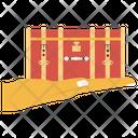 Treasure Jewelry Box Treasure Chest Icon