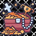 Treasure Gold Chest Icon