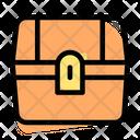 Treasure Box Wealth Icon