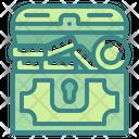 Treasure Coin Box Currency Icon