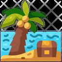 Treasure Palm Islands Palm Tree Icon