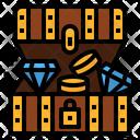 Treasure Chest Pirate Icon