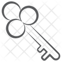 Treasure Key Access Lock Key Icon