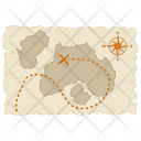 Treasure Map Icon