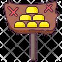 Treasure Signboard Icon