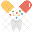 Tooth Medicine Filling Icon
