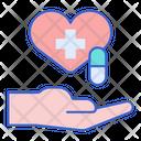 Treatment Medicine Pills Icon