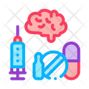 Brain Medical Health Icon
