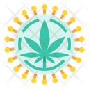 Aids Treatment Marijuana Icon