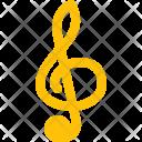 Treble Clef Music Icon