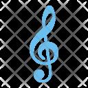 Treble Clef Note Icon
