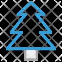 Tree Christmas Decoration Icon