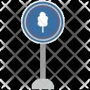 Tree Forward Warning Icon