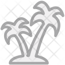 Tree Plant Palm Icon