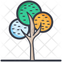 Generic Tree Dotted Icon