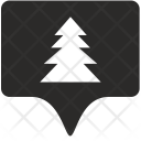 Fir Tag Place Icon