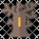 Tree Halloween Spooky Icon