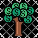 Tree Finance Money Icon
