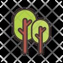 Tree Nature Greenery Icon