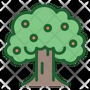 Tree Fruit Tree Ecology Icon
